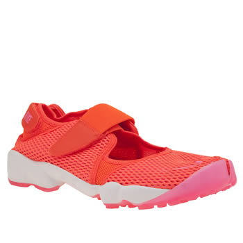 Nike Orange Air Rift Breathe Womens Trainers