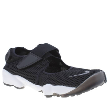 Nike Black & White Rift Womens Trainers
