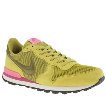 Nike Yellow Internationalist Womens Trainers