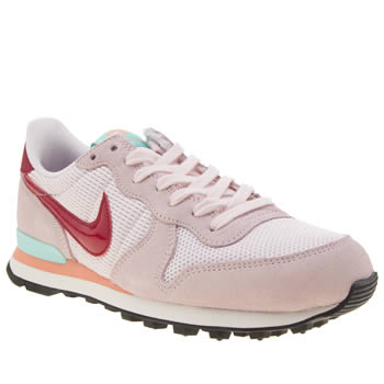 Nike Pale Pink Internationalist Womens Trainers