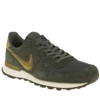 Nike Dark Green Internationalist Trainers