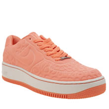 Nike Peach Air Force 1 Upstep Se Womens Trainers