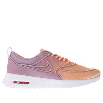 Nike Orange Air Max Thea Ultra Womens Trainers
