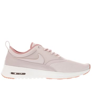NIKE PALE PINK AIR MAX THEA ULTRA PREMIUM TRAINERS