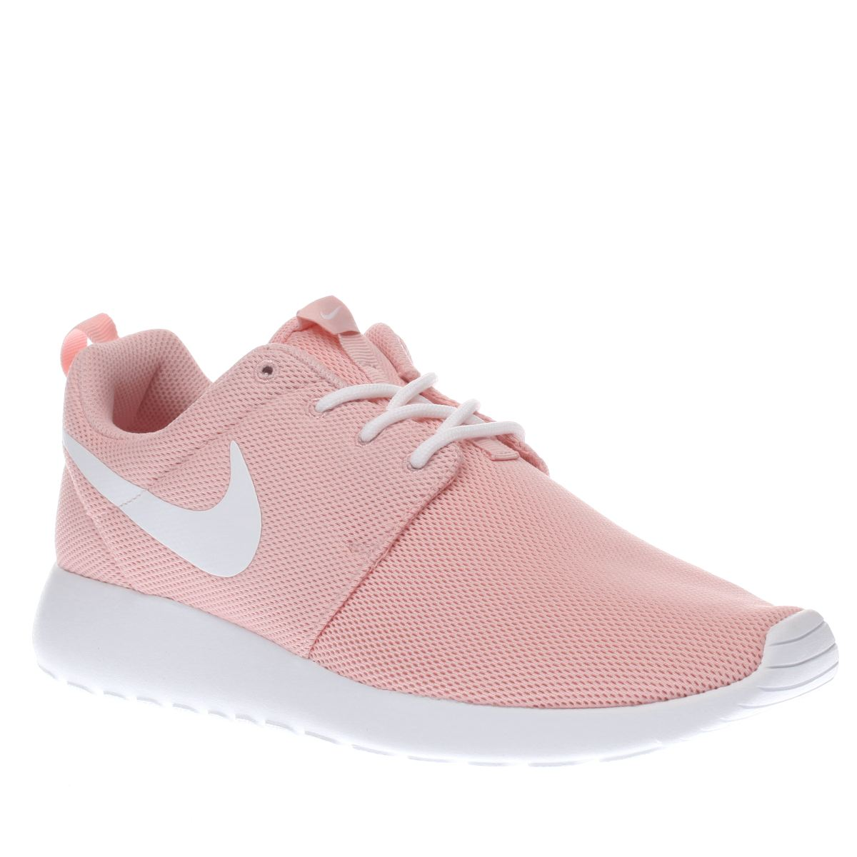 nike pale pink roshe one womens trainers