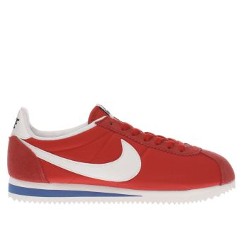 Nike Red Cortez Nylon Premium Womens Trainers