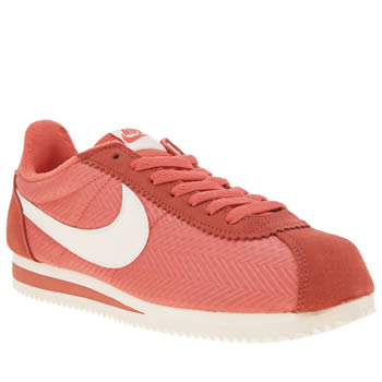 Nike Pink Cortez Textile Womens Trainers