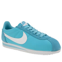 Nike Blue Cortez Womens Trainers