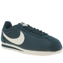 Nike Teal Cortez Textile Womens Trainers
