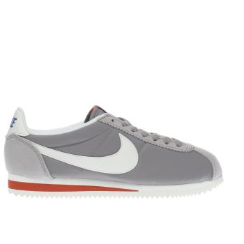 Nike Light Grey Cortez Nylon Premium Womens Trainers