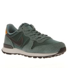 Nike Turquoise Internationalist Premium Womens Trainers
