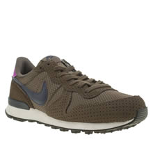 Nike Brown Internationalist Premium Womens Trainers