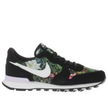Nike Black & White Internationalist Premium Womens Trainers