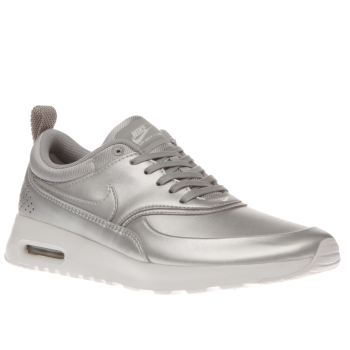 Nike Silver Air Max Thea Se Womens Trainers
