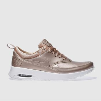 Nike Bronze Air Max Thea Premium Womens Trainers