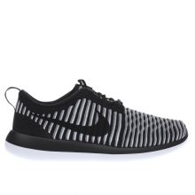 Nike Black & White Roshe Two Flyknit Womens Trainers