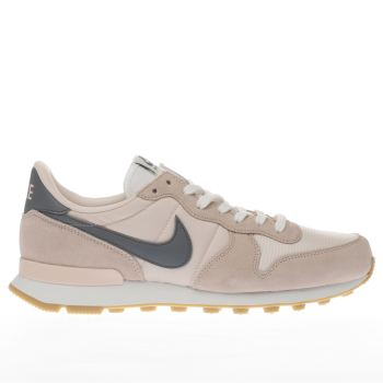 NIKE PALE PINK INTERNATIONALIST TRAINERS
