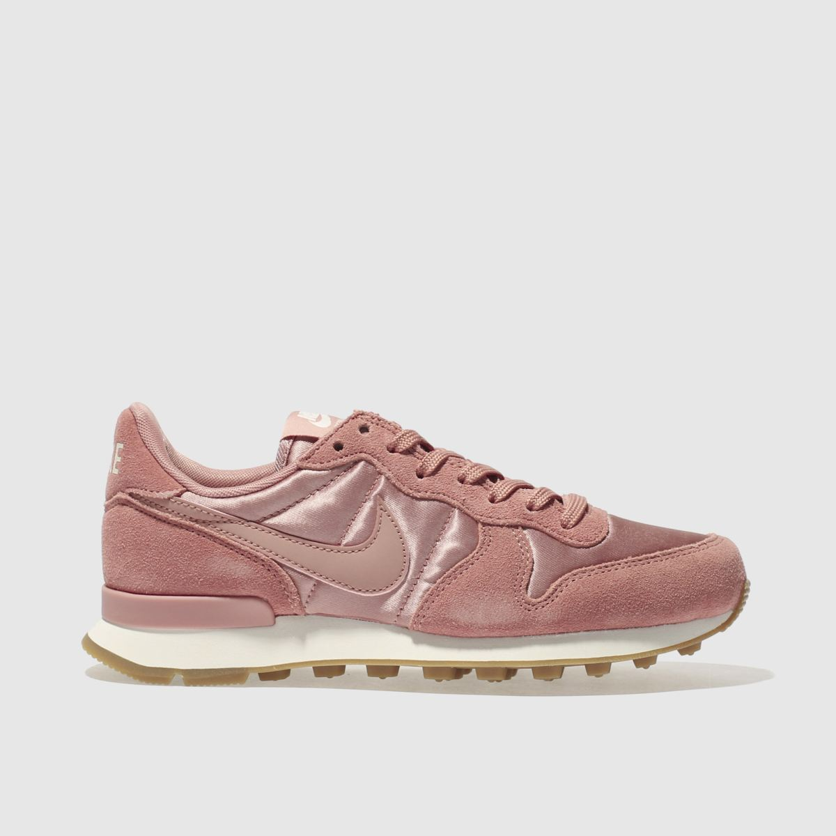 nike pink internationalist trainers
