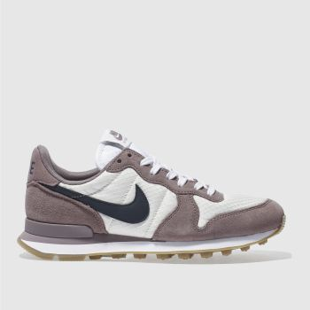 Nike Purple INTERNATIONALIST Trainers