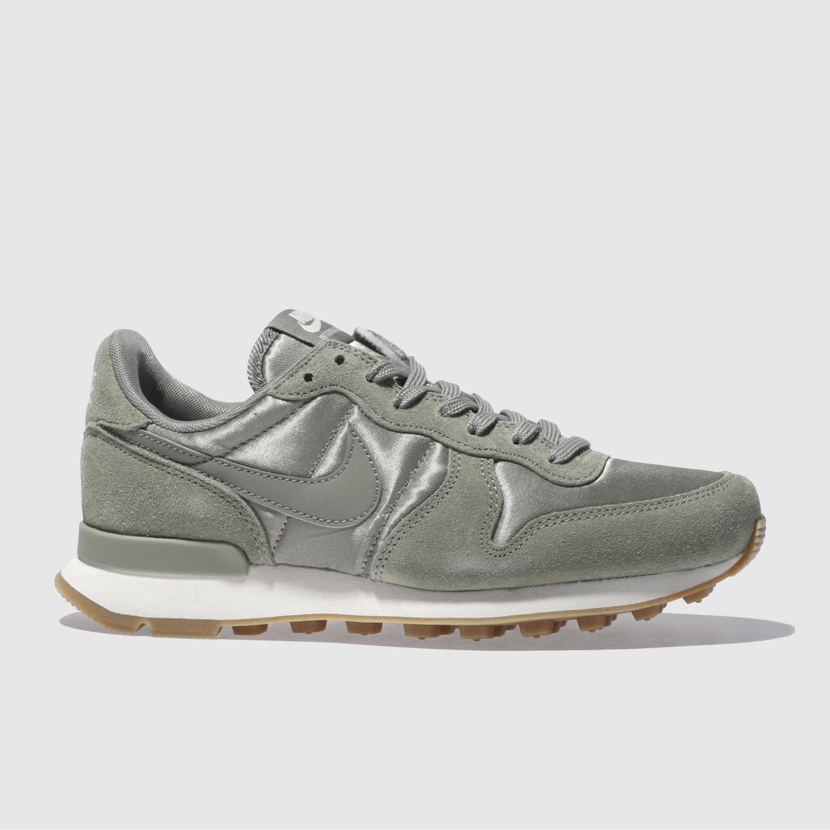nike khaki internationalist trainers