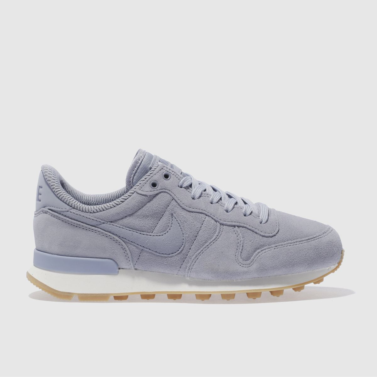 nike pale blue internationalist trainers