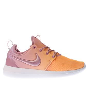 Nike Orange Roshe Two Breathe Womens Trainers
