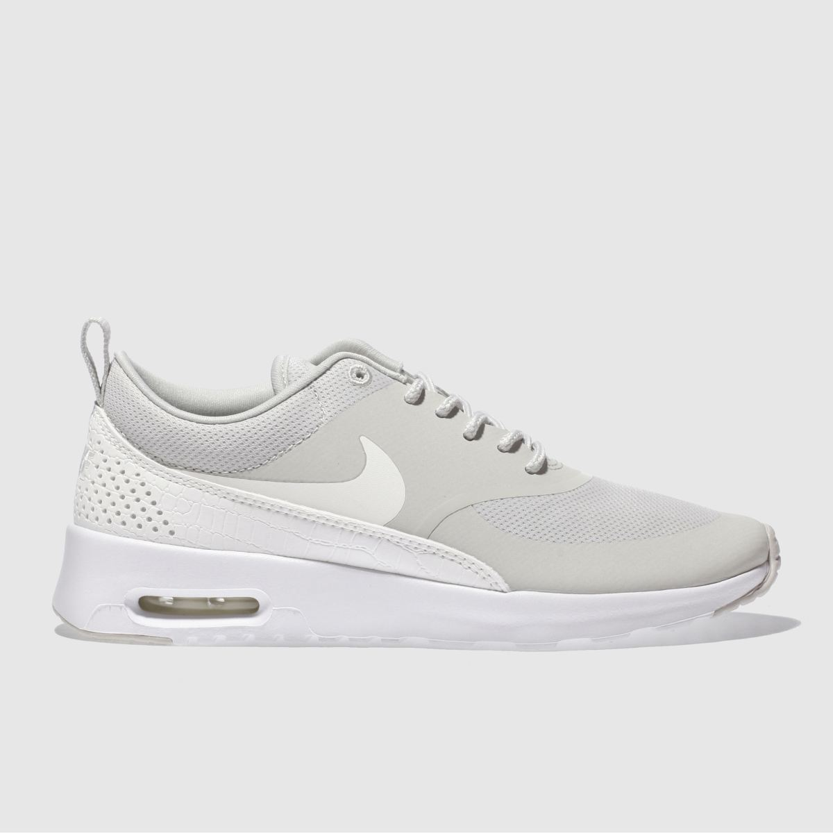 nike beige air max thea trainers