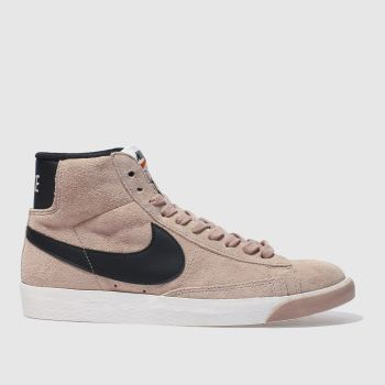 Nike Pink Blazer Mid Womens Trainers