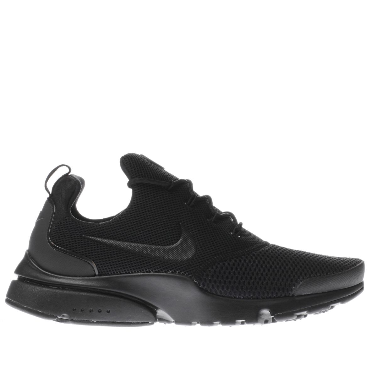 nike black presto fly trainers