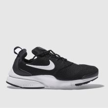 Nike Black & White Presto Fly Womens Trainers