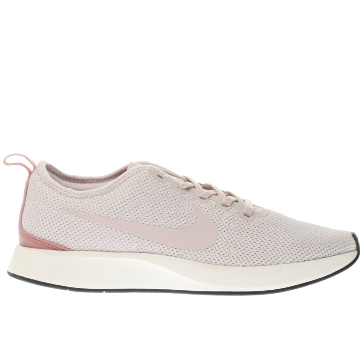 nike pale pink dualtone racer trainers