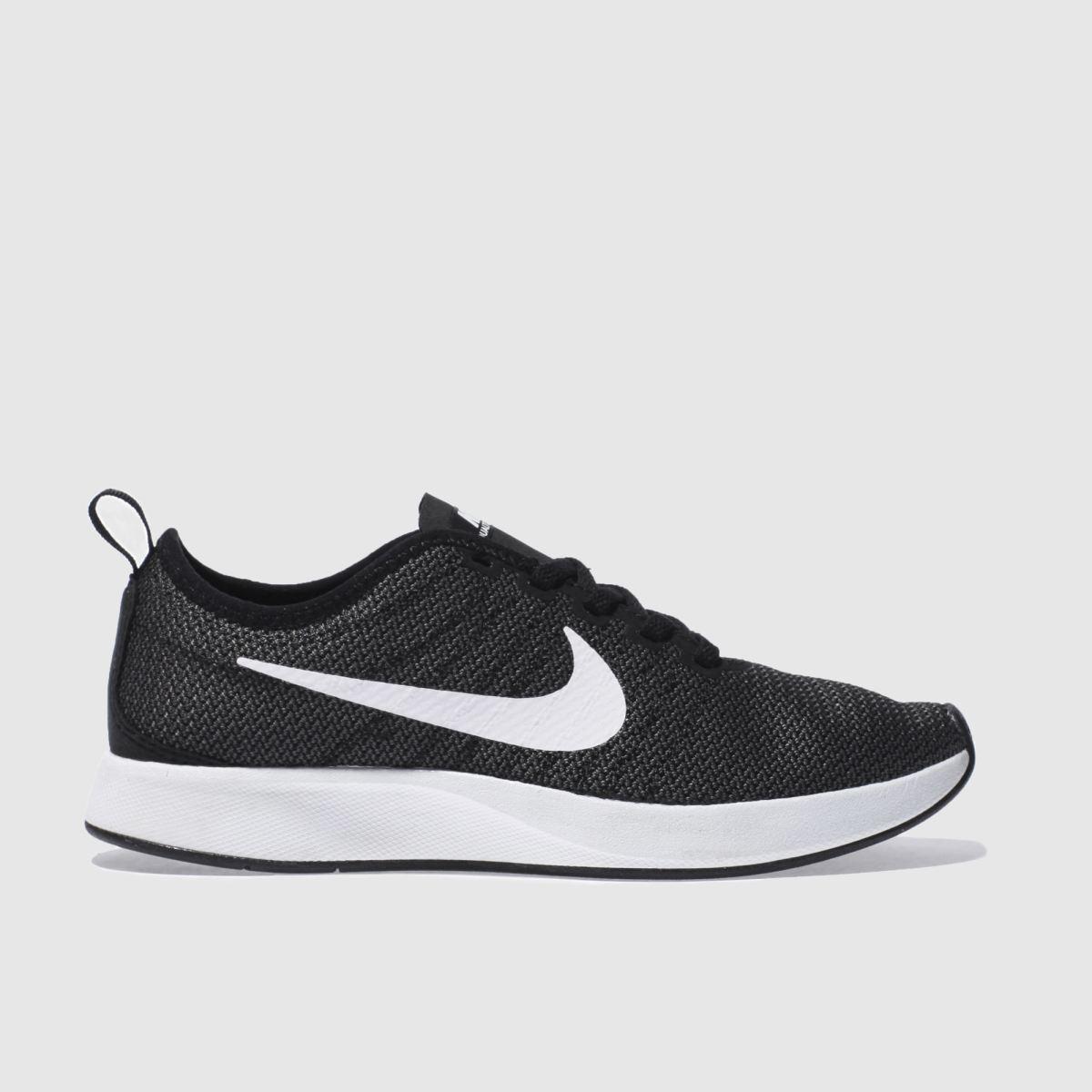 Nike Black & White Dualtone Racer Trainers