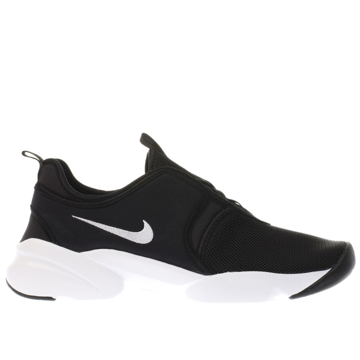 nike black & white loden trainers