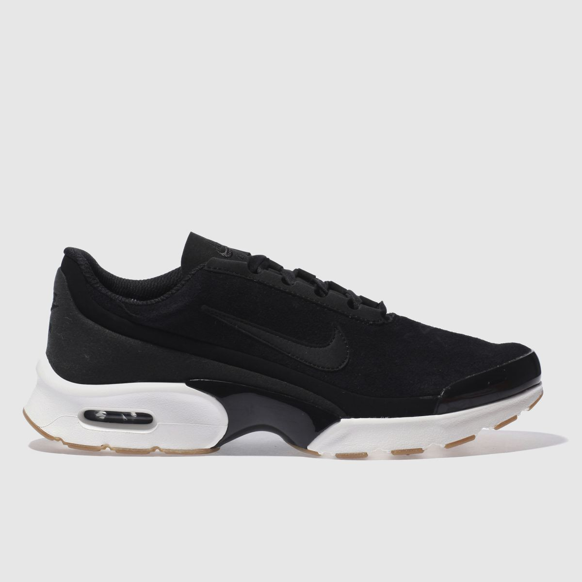 nike black & white air max jewel trainers