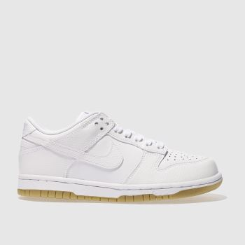 Nike White Dunk Low Womens Trainers