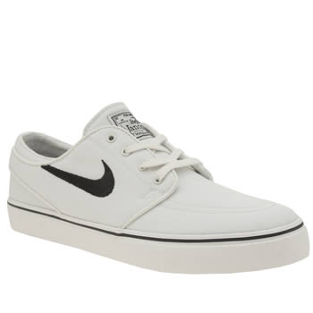 Nike Sb White & Black Zoom Stefan Janoski Womens Trainers