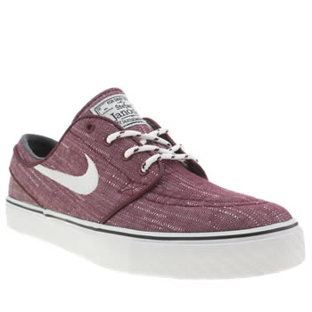Nike Skateboarding Red Zoom Stefan Janoski Trainers
