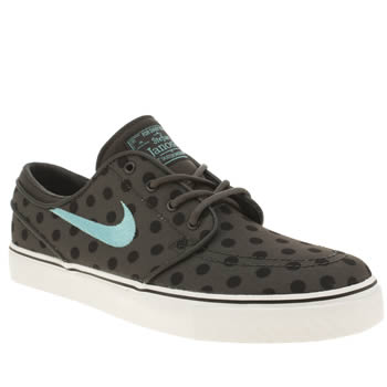 Nike Skateboarding Grey & Black Zoom Stefan Janoski Trainers