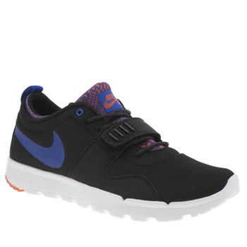 Nike Sb Black and blue Trainerendor Womens Trainers