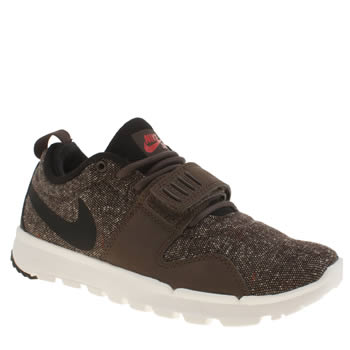 Nike Skateboarding Brown Trainerendor Trainers