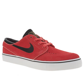 Nike Sb Red Zoom Stefan Janoski Trainers