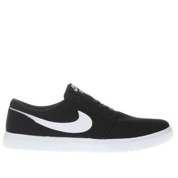 Nike Sb Black Portmore Ii Ultralight Womens Trainers