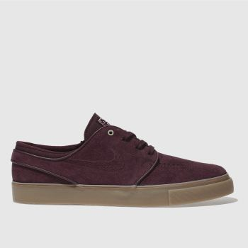 Nike Sb Purple Stefan Janoski Womens Trainers