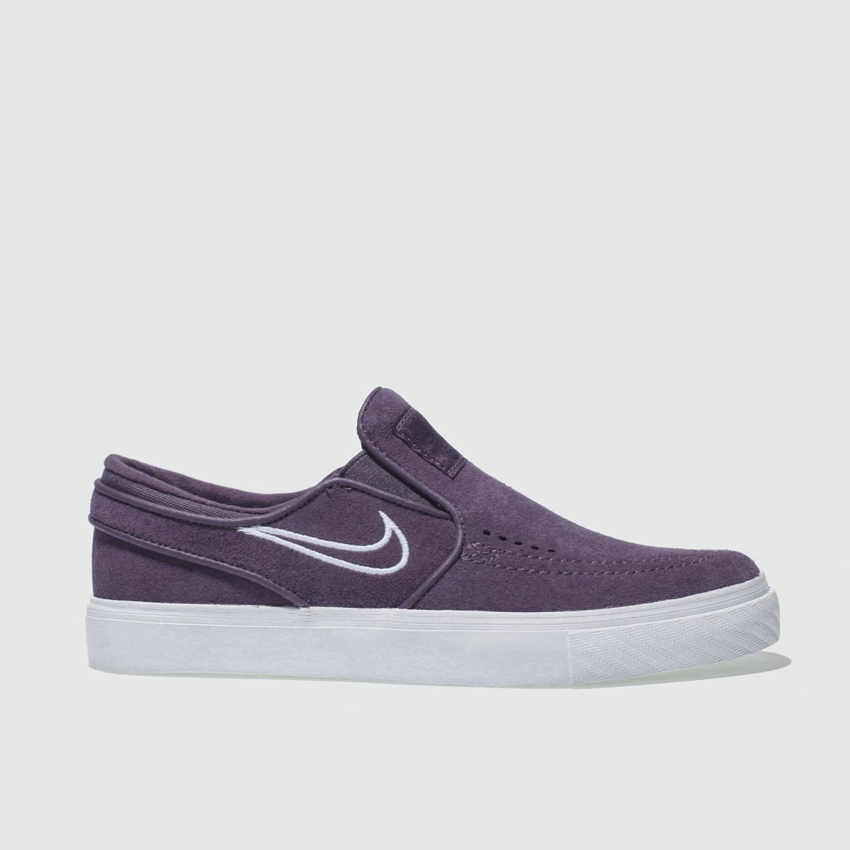 Nike Sb Purple Stefan Janoski Slip Trainers