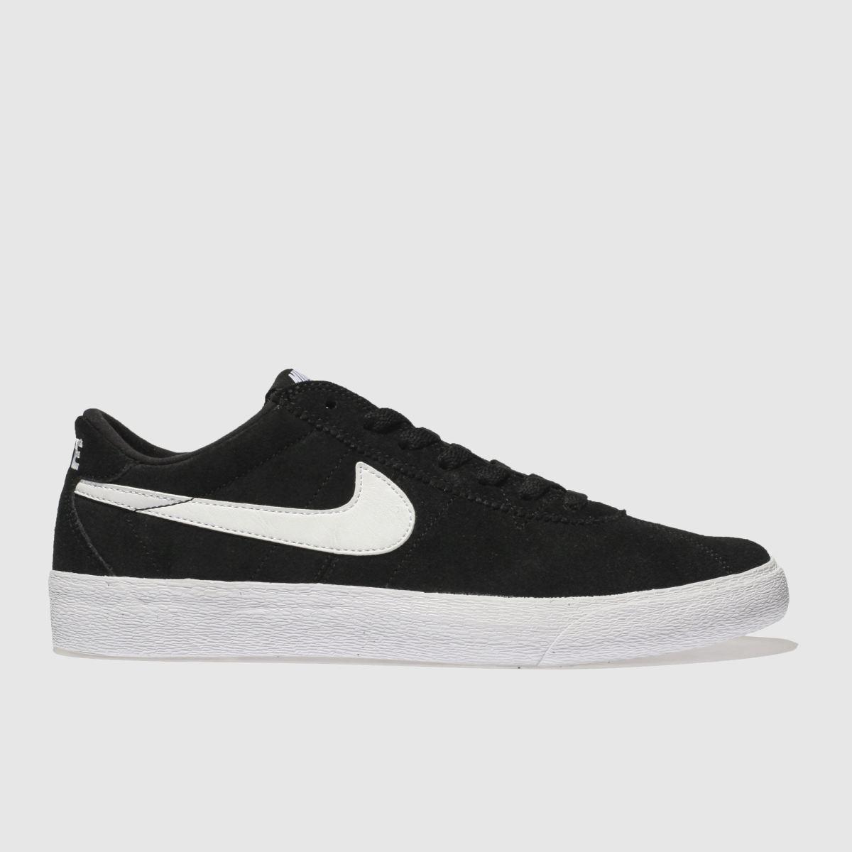 Nike Sb Black & White Bruin Low Trainers