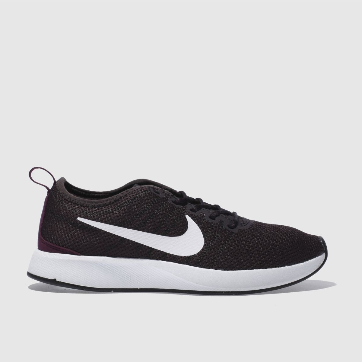 nike dark purple dualtone trainers