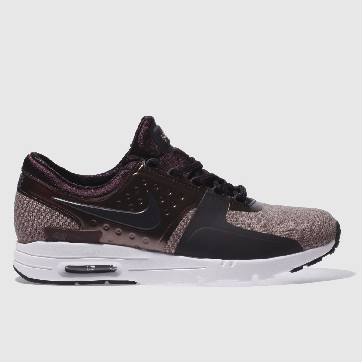 nike dark purple air max zero premium trainers