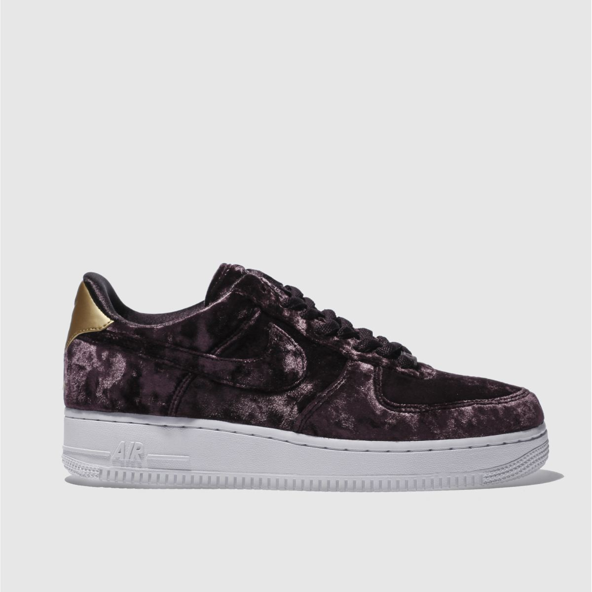 nike dark purple air force 1 low premium trainers