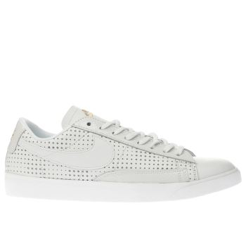 Nike White Beautiful X Blazer Low Womens Trainers