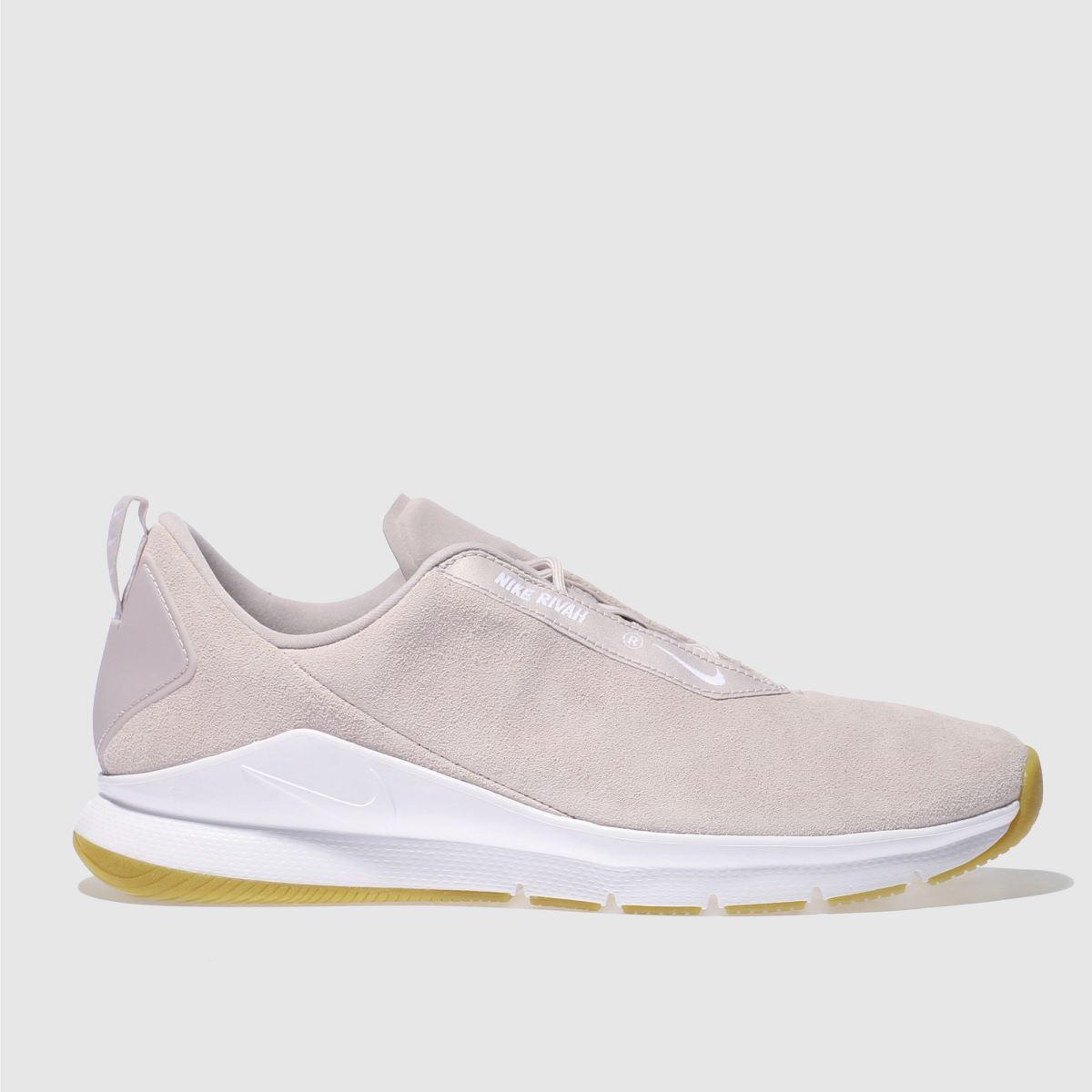Nike Pale Pink Rivah Premium Trainers